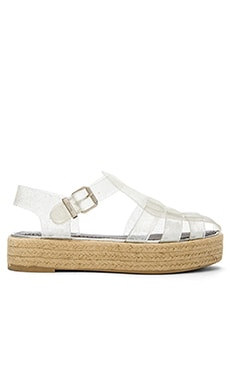 Circus by Sam Edelman Gotham Sandal in Clear Glitter