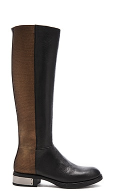Circus by Sam Edelman Roxie Boot in Black & Bronze