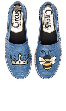 Leni 6 Espadrille in Mid Blue