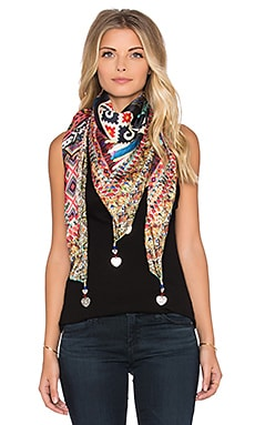 Camilla Large Square Scarf in Forever Bound