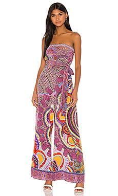 Tie Waist Strapless Jumpsuit Camilla $599