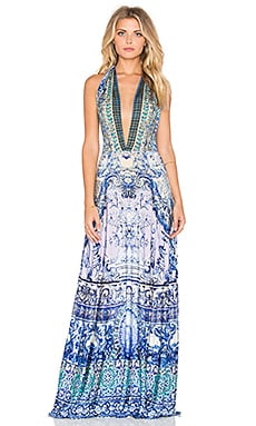 Camilla Multi Wear Maxi Dress in Temptress of The Deep