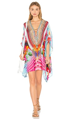 Short Lace Up Kaftan en The Free