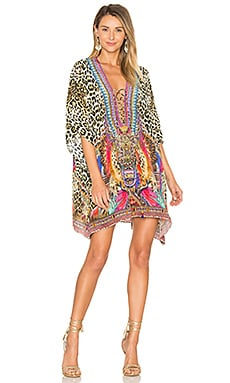 Short Lace Up Kaftan