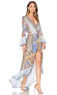 Wrap Dress in Go Your Own Way