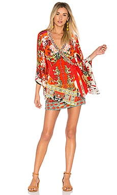 Kimono Cross Over Dress