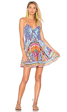 Tie Front Mini Dress