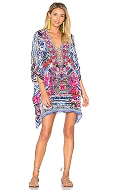 Short Lace Up Caftan in From Kaili With Love