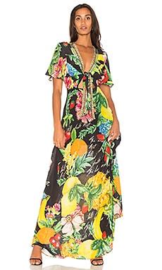 Tie Front Maxi Dress