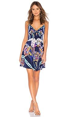 Tie Front Mini Dress Camilla $385