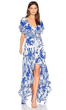 Frill Sleeve Dress Camilla $700