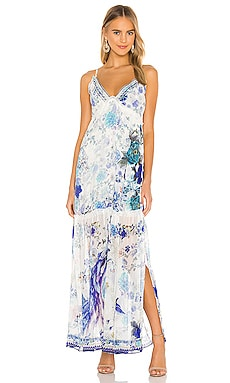 Shoestring Strap Halter Dress Camilla $799