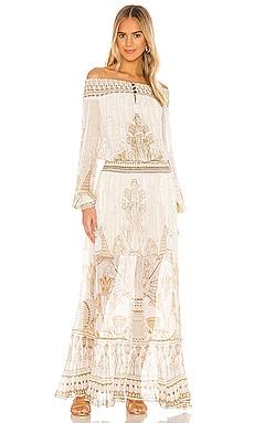 Off Shoulder Shirred Dress Camilla $749 NEW ARRIVAL