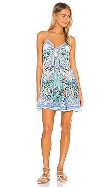Tie Front Short Dress Camilla $455