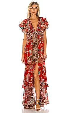 Tie Front Maxi Dress Camilla $799
