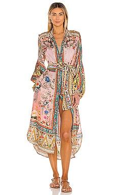 High Low Midi Shirt Dress Camilla $799