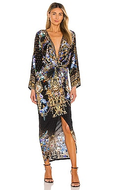 Split Front Twist Dress Camilla $599