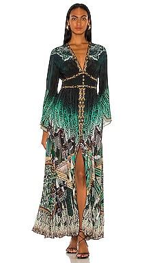 Kimono Sleeve Dress Camilla $749