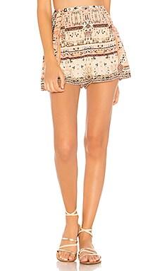 Side Flounce Shorts