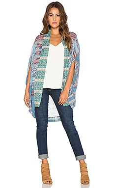 Camilla Open Front Cardigan in Stitch of the Condor
