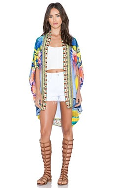 Camilla Open Front Cardigan in The Rites of Tropicana