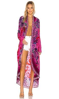 Long Casual Kimono Camilla $599 NEW ARRIVAL