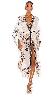 Gather Detail Layer Kimono Camilla $849
