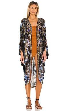 Jersey Back Panel Kimono Camilla $360