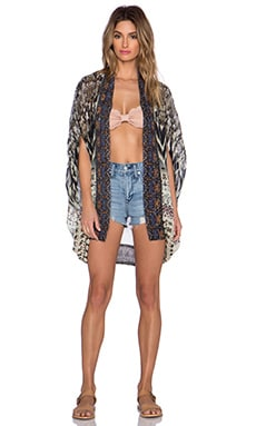 Camilla Open Front Cardigan in Call of the Wild