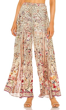 Lace Up Side Flare Pant Camilla $699