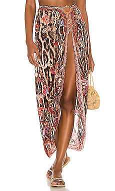 Ring Trim Long Sarong Camilla $249