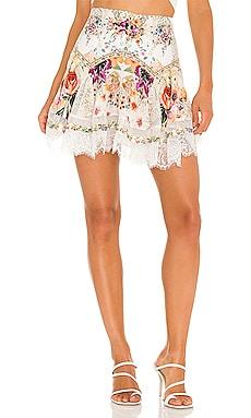 Shaped Yoke Mini Skirt Camilla $357