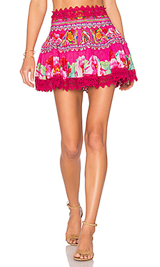Short Frill Hem Skirt en Hani Honey
