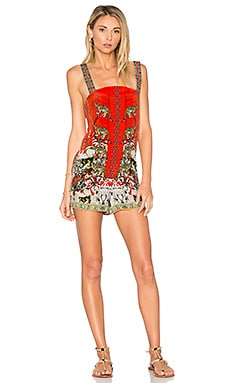 Shift Halter Romper in Hangzhou Hollywood