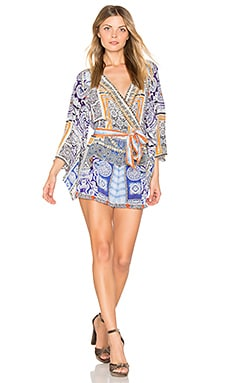 Ромпер с рукавами кимоно - Camilla 711PLAE001