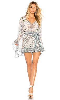 Wide Sleeve Romper Camilla $550
