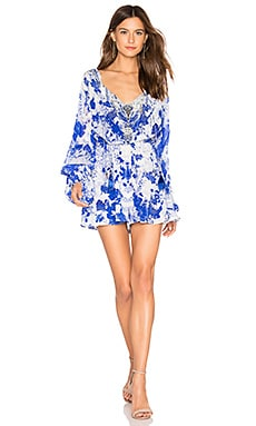 Blouson Sleeve Playsuit Camilla $360