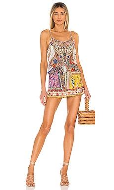 Shoestring Strap Romper Camilla $549 BEST SELLER