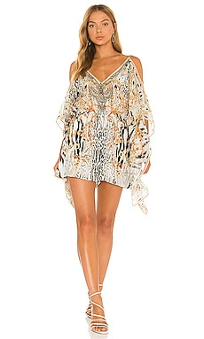 Scarf Side Playsuit Camilla $599 NEW