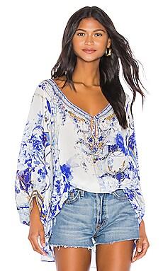 Raglan Sleeve Blouse Camilla $600 NEW ARRIVAL