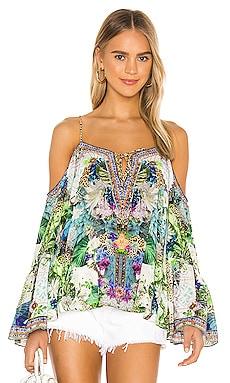 Drop Shoulder Top Camilla $499 NEW ARRIVAL