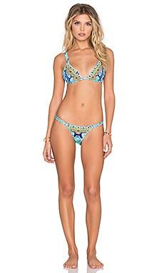 Camilla Double Strap Bikini Set in New Horizon