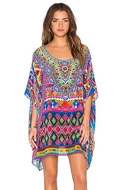 Camilla Short Round Neck Kaftan in Spirit Of Ruh