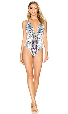Plunge Low Back One Piece