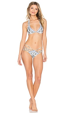 Multi String Tie Bikini Set en Wild Belle