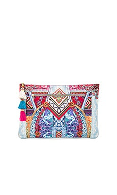 Large Canvas Clutch in Sunday Best
