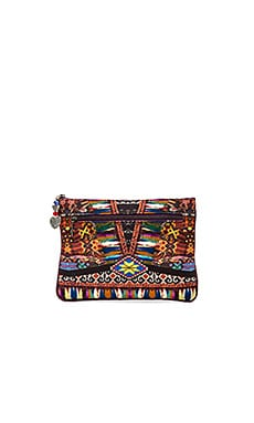 Camilla Small Canvas Clutch in Forever Bound