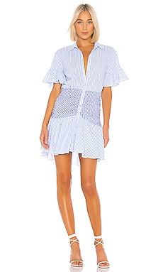 Stripe Asher Dress Cinq a Sept $295 NEW ARRIVAL