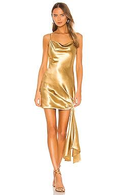 Satin Ryder Dress Cinq a Sept $289