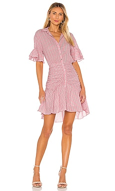 Stripe Asher Dress Cinq a Sept $395 NEW ARRIVAL